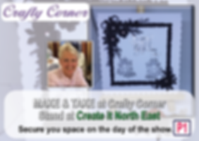 Crafty Corner promo - Create it North Ea