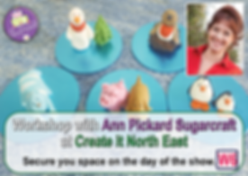 ann pickard sugarcraft promo - Create it