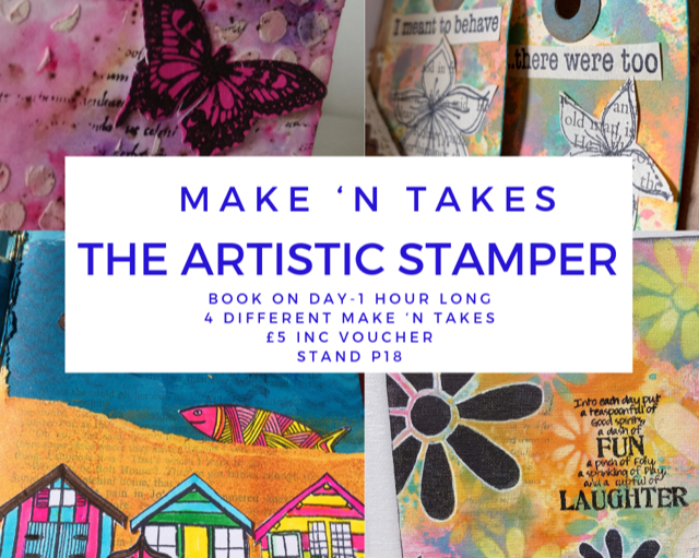 The Artistic Stamper at Create it Kent