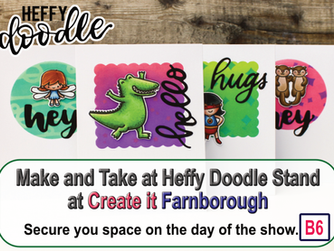 Heffy Doodle Make & Take a Create it Farnborough