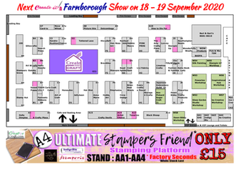 Create it Farnborough Exhibitor Layout and List
