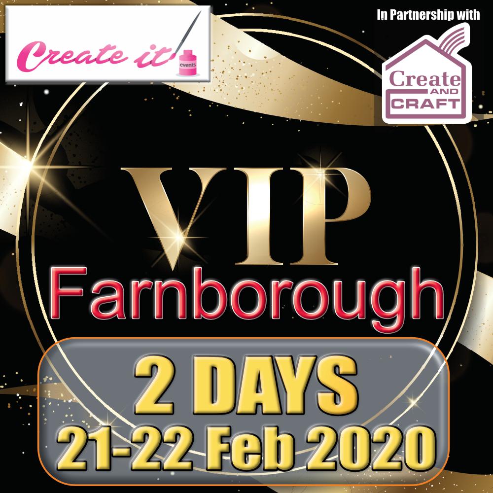 Create it Farnborough VIP Tickets