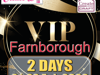 Create it Farnborough VIP and Advace Tickets Available Now