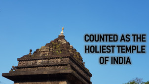 Trimbakeshwar Temple - Counted As The Holiest Temple Of India