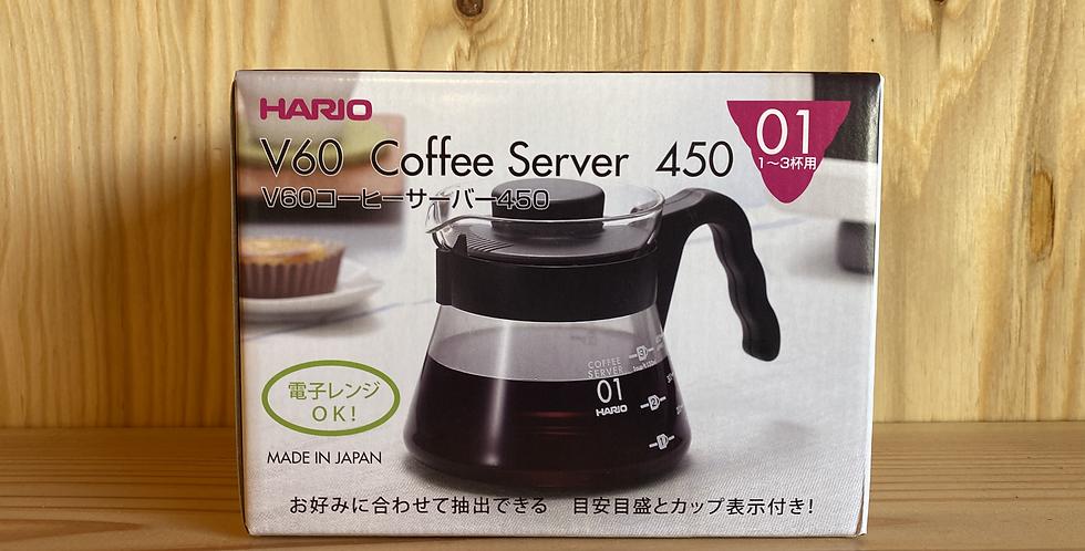 ハリオV60コーヒーサーバー450