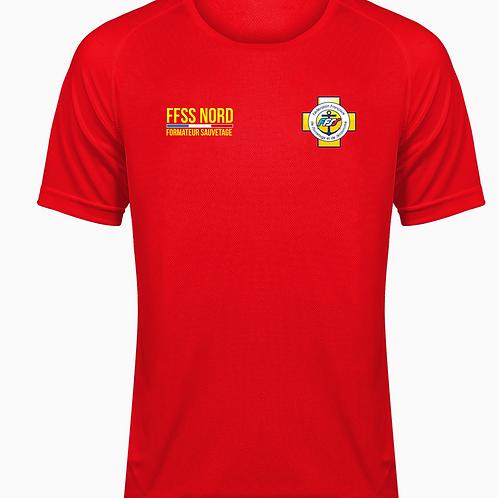 T Shirt Formateur FFSS Nord - Entrainement BNSSA