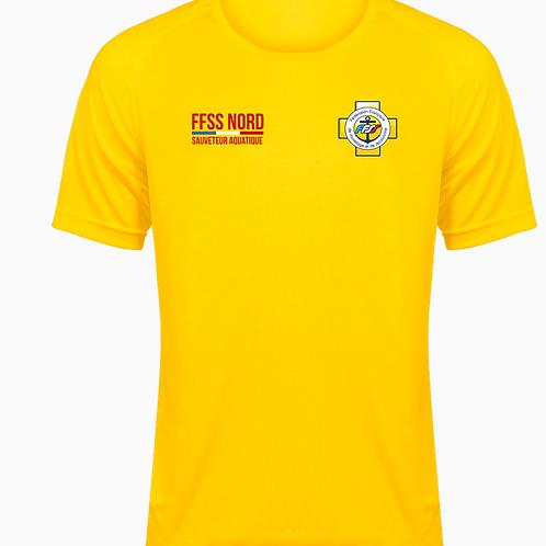 T Shirt FFSS Nord - Sauveteur Entrainement BNSSA