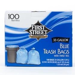 33 gallon trash liners