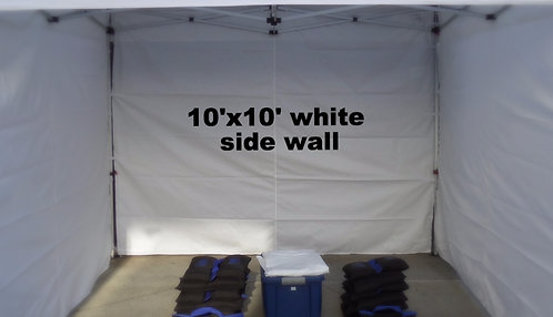10' side wall (white)