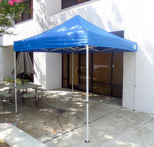 10'x10' pop-up tent (blue)