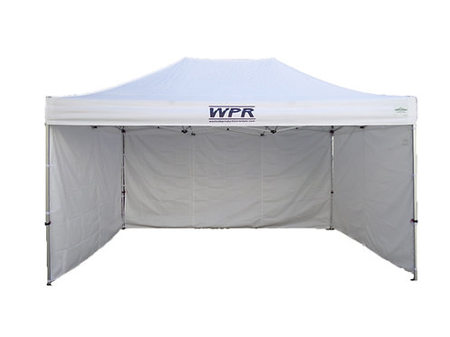 10'x15' pop-up tent (white)