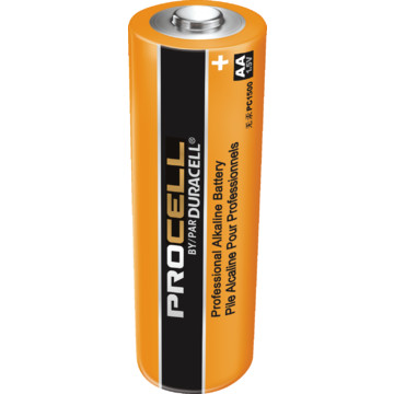 AA Duracell Procell battery