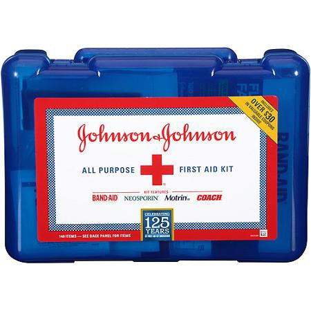 First Aid Kit (140 pieces)