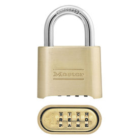 Combo Lock (4-digit set your own combo)