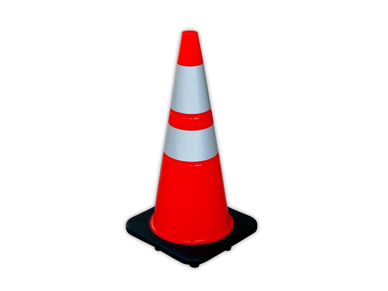 Tall traffic cone