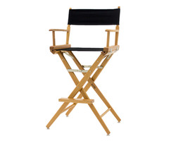 Tall director chairs