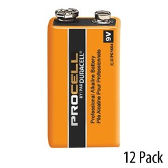 9V Duracell Procell battery