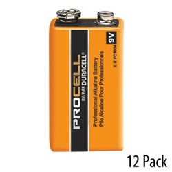9V Duracell Procell battery