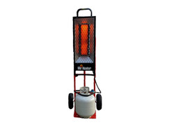 Propane dolly heater