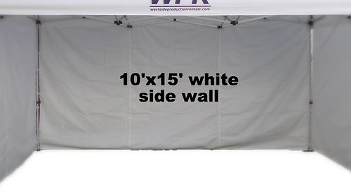 15' side wall (white)