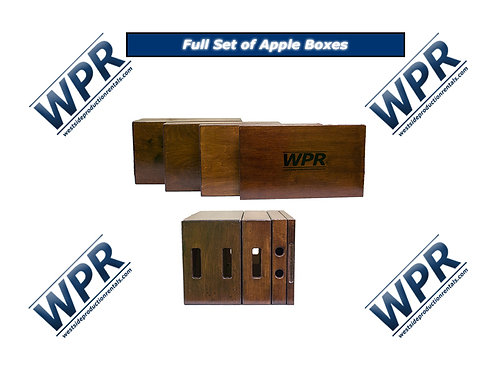 Apple Boxes (full set or single)