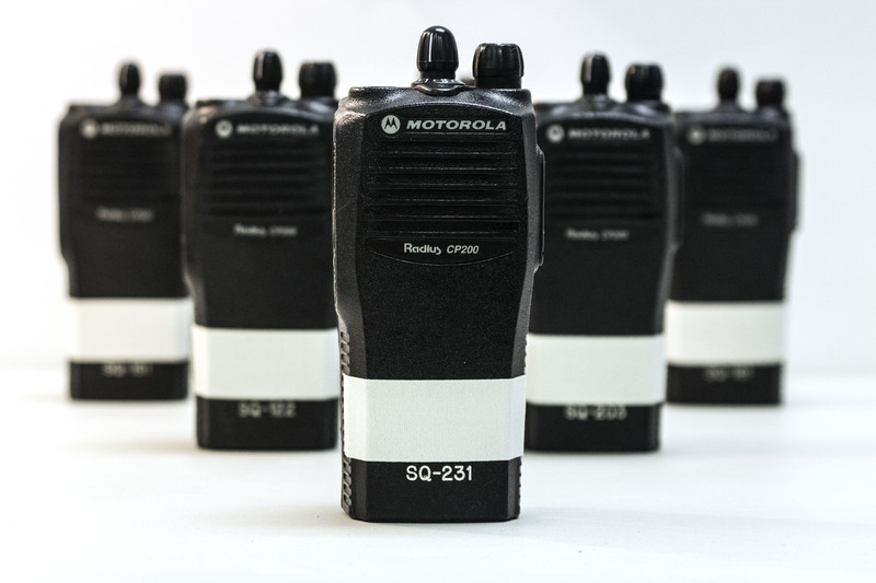 CP200 Motorola Walkie Talkies