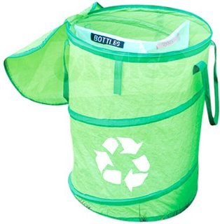 Beach Collapsible Recycle/Trash Can