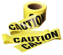 "Caution tape (3""x300')"
