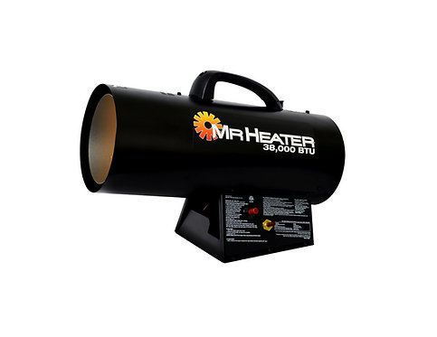 Forced Air Construction Propane Heater