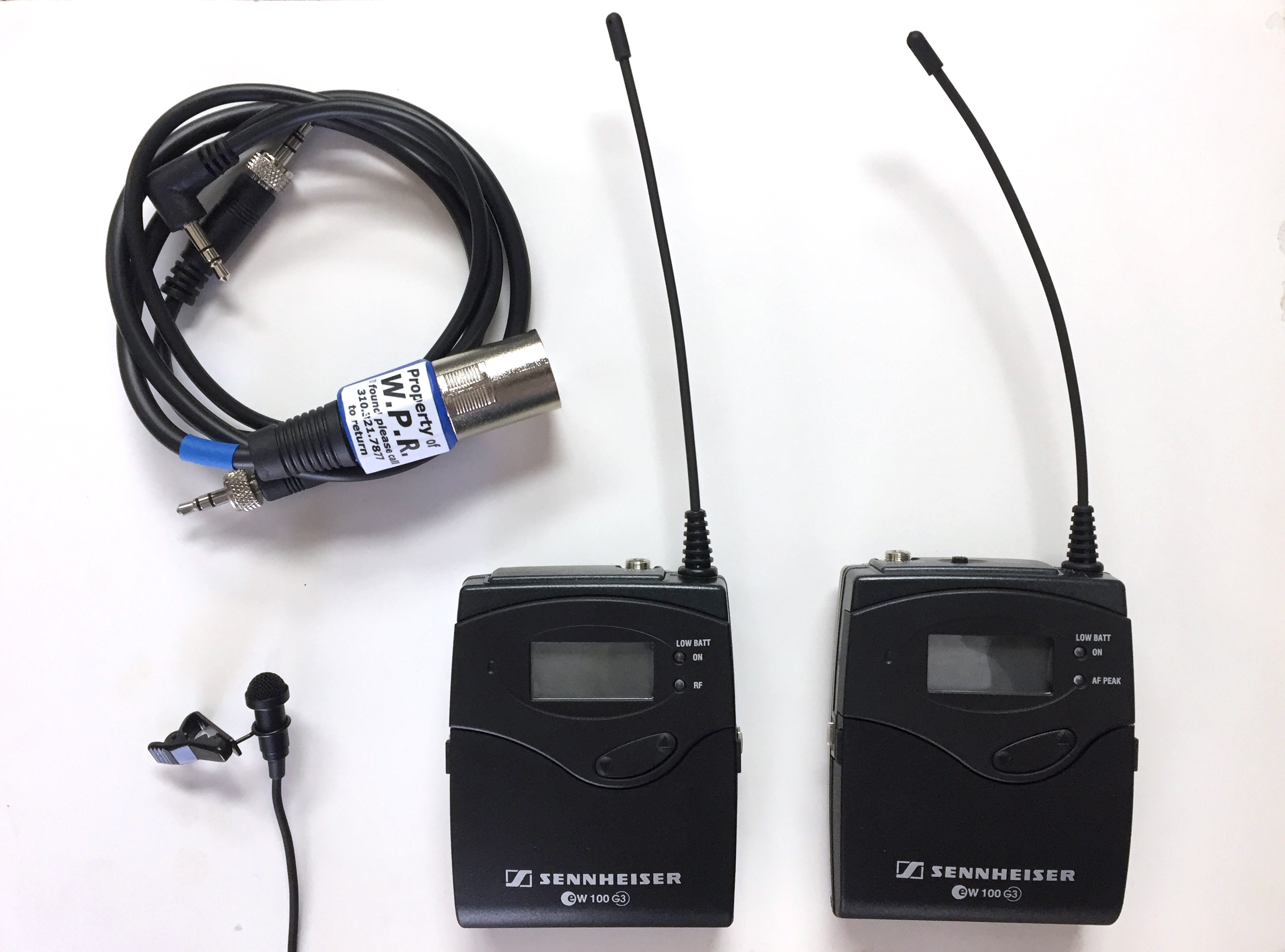 wireless lavalier mic