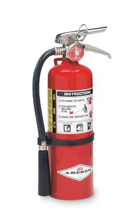 Fire Extinguisher A:B:C type 5lb or 10lb