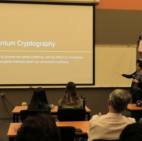 Quantum Cryptography by Jenny Zhang (cont.)