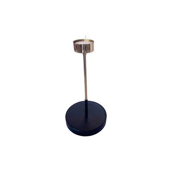 Gold Stem Tea Light Holder