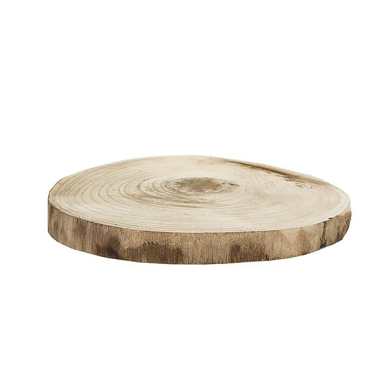 Round Timber Display Slabs