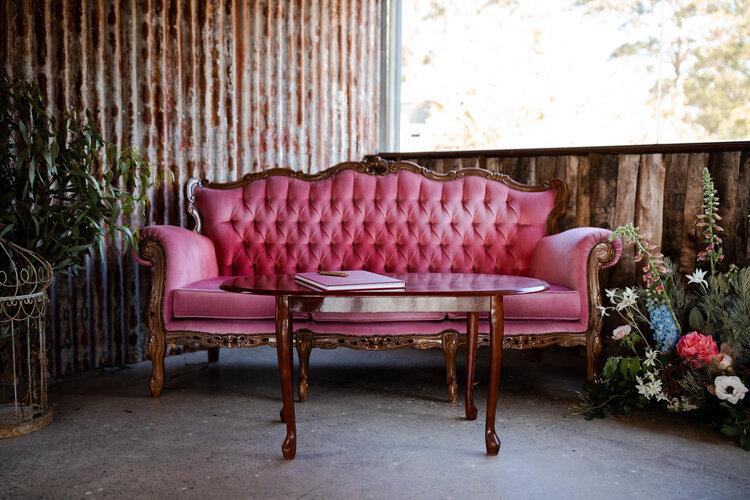 ROSIE:  Blush Victorian Lounge