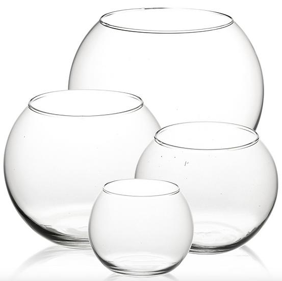 Fishbowl Glass Vases