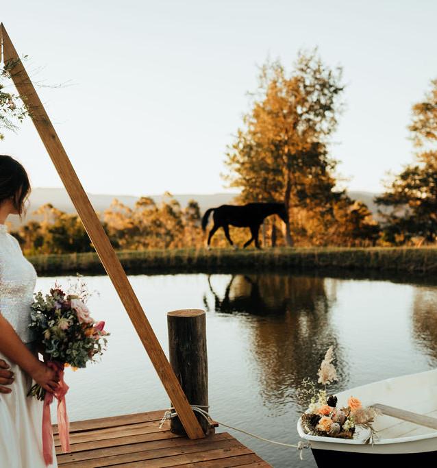 wedding hire mollymook