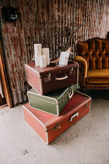 Vintage Decorative Suitcases