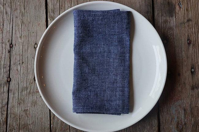Blue Cotton Cloth Napkin