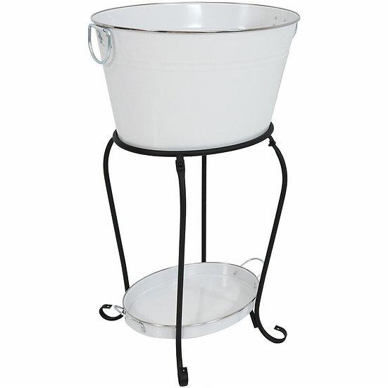 Ice Bucket & Beverage Holder