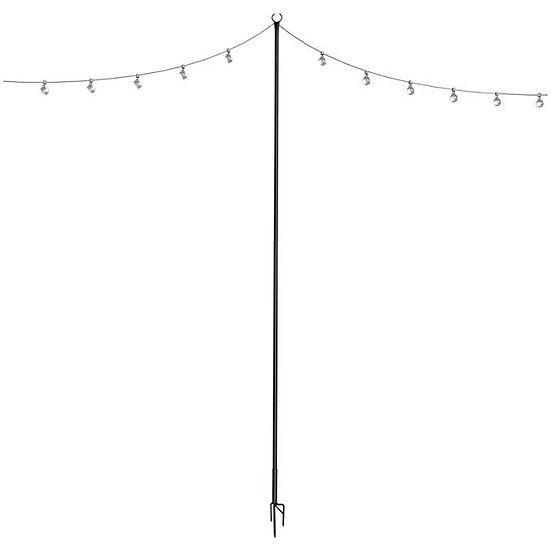 Black Lighting Poles