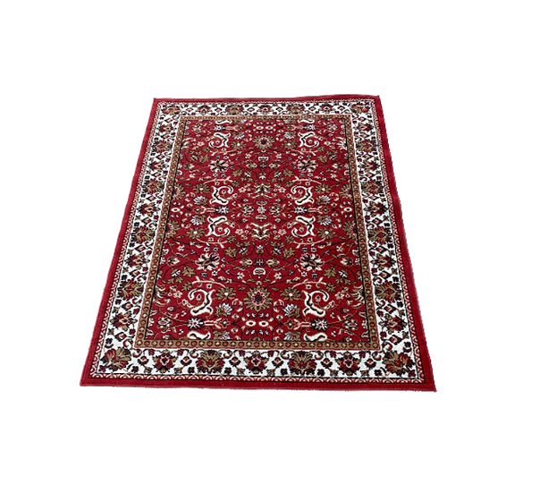 Red Moroccan Style Rug 1