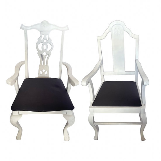 BRUCE & BEATRICE: King & Queen Throne