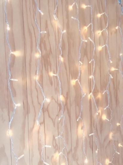 Curtain Fairy Light Backdrop