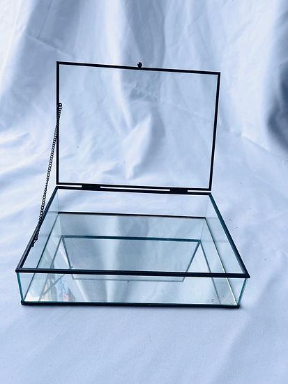 Glass Box Wishing Well
