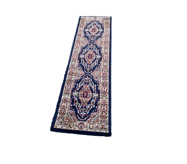 Blue Moroccan Style Runner