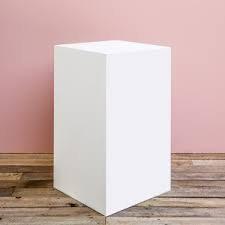 White Box Plinth
