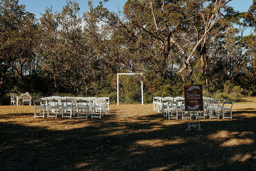 White on White Wedding Ceremony Package