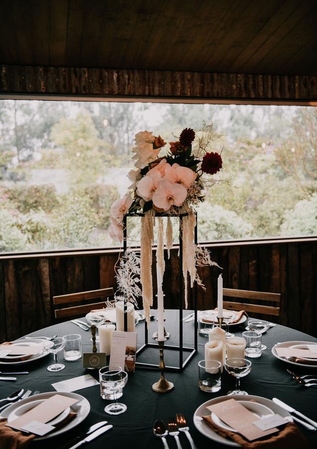 Wedding reception styling ulladulla