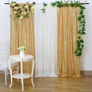 Curtain Back drop
